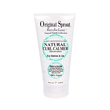 Original Sprout Natural Curl Calmer  All Natural Hair Care  Curly Hair  Moisturizer and Hair