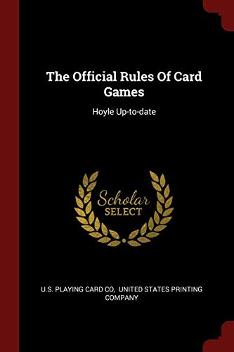 The Official Rules Of Card Games: Hoyle - Poker Hoyle Rules