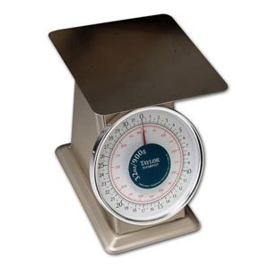 Taylor THD32D Heavy-Duty Mechanical SS Food Scale, 32 oz and 900 gm
