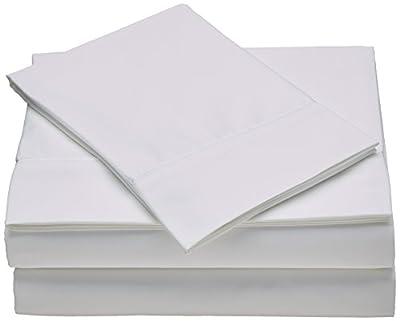 TEMPUR-Pima Cotton White Sheet Set