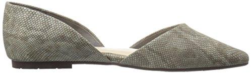 Bc Chaussures Lézard De La Société Des Femmes A Souligné Toe Lézard Gris Plat