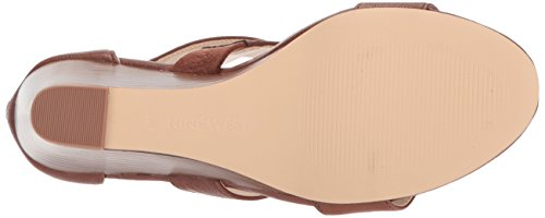 Synthetic Synthetic Wedge West Dark Natural WoMen Sandal Ione Nine z4qawt