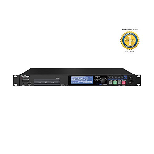 Tascam SS-R250N Memory Recorder with Networking and 1 Year EverythingMusic Extended Warranty Free by Tascam