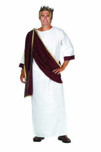 RG Costumes Caesar The Great, White/Wine, One Size