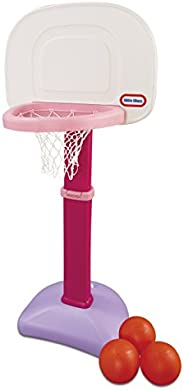 Little Tikes Easy Score Basketball Set, Pink, 3 Balls - Amazon Exclusive