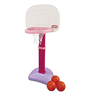Little Tikes TotSports Easy Score Basketball Set for Kids – Basketball Hoop for Toddlers 1-3 Years – Indoor & Outdoor…