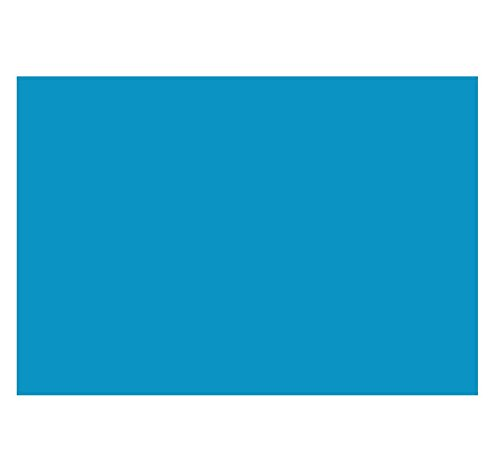 A7 Flat Card (5 1/8 x 7) - Pool Blue (50 Qty.) | Perfect for Personal Stationery, Business Correspondence, Invitation Inserts, and more! | 4040-102-50