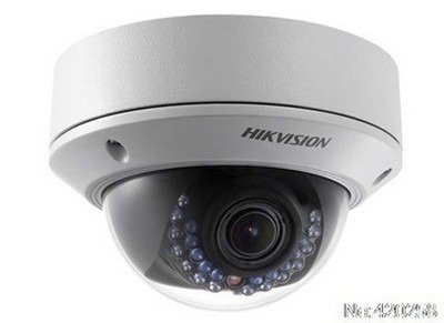 Hikvision DS-2CD2732F-I Outdoor IP Dome Camera, 3MP, 2.8-12 mm Lens, Day/Night, IP66 Standard, IR, POE/12VDC