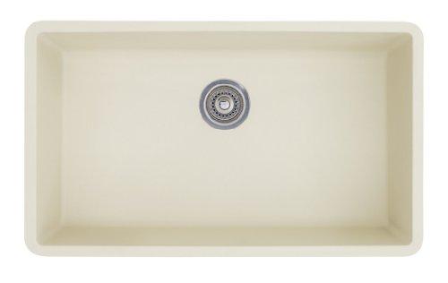 Super Single Precis (Blanco 513-410 Precis Super Single Bowl Kitchen Sink, Biscuit Finish)