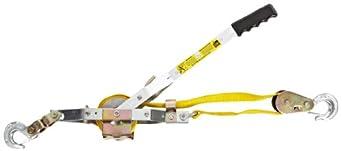 Maasdam WS-2 Strap Puller Power Pulley Hoist, 4409.25 lbs Capacity, 12' Lift Height