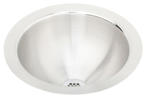 Elkay Asana ELUH9 Single Bowl Undermount Stainless Steel Bathroom Sink (Elkay Lustertone Bar Sinks)