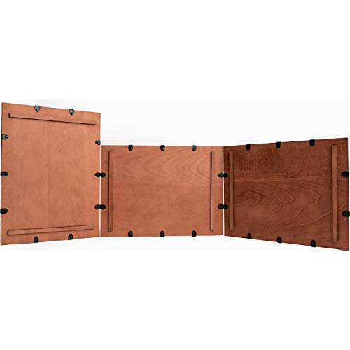 (DM Screen - Wooden 3 Panel Modular DM Screen - Dungeon & Game Master Accessory for Tabletop RPG Campaigns (Cherry))