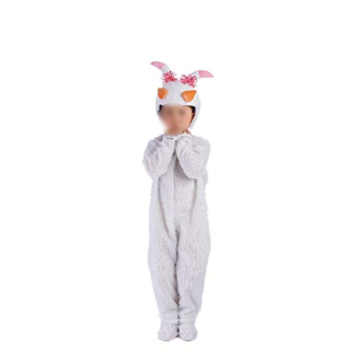 Children's Animal Performance Costumes Sheep Cartoon Halloween Cosplay,Beautiful Sheep Long,120cm]()