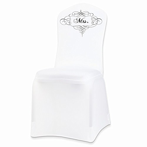 - Top 10 Jewelry Gift Stretchable White MRS. Chair Cover