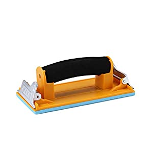 Aouker HS85180 Hand Sander with Sponge Handle, Perfect for 9 x 3.6 inch Sandpaper
