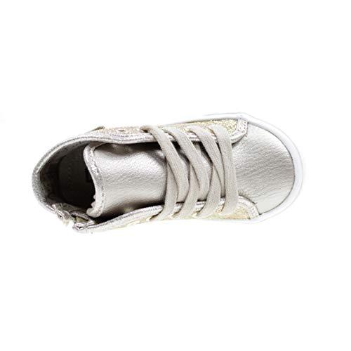L1a420005 Logo Et jo Glitter Enfant Hautes Girl Zip Avec Lacets Chaussures Lj Liu Or 7xYzwZdY