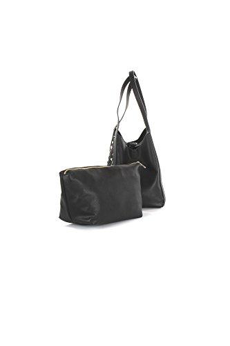 PATRIZIA PEPE Borsa Shopping 2V7782/A3CR Stars Black