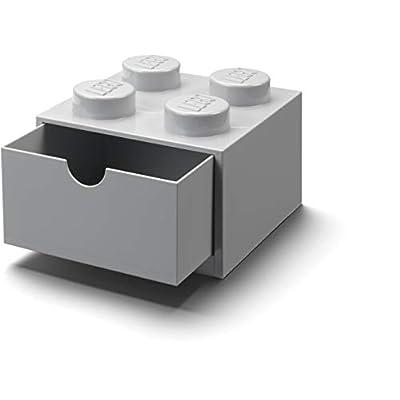 Room Copenhagen Lego Desk Drawer 4, Grey: Toys & Games