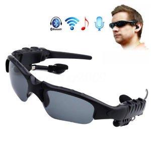 Tradico reg; TradicoBrand New Bluetooth Wireless Headset Smart Sunglasses with Mic Stereo for Phone Hand Free