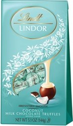 Lindt Lindor Truffles - Coconut Chocolate - 5.1 oz - 6 pk