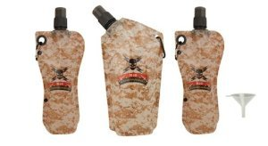 United Cutlery M48 Kommando Disposanle Flask Set 3-Pack, Outdoor Stuffs
