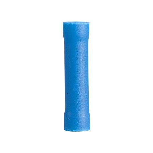 - Gardner Bender 10-123 Butt Splice, Vinyl Fully-Insulated Barrel, 16-14 AWG, Blue