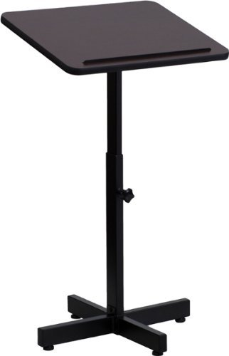 48' Mahogany Frame (Flash Furniture - Adjustable Height Metal Lectern by Flash Furniture)