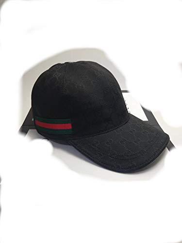 SmartJewelz Original GG Canvas Baseball hat with Web Black