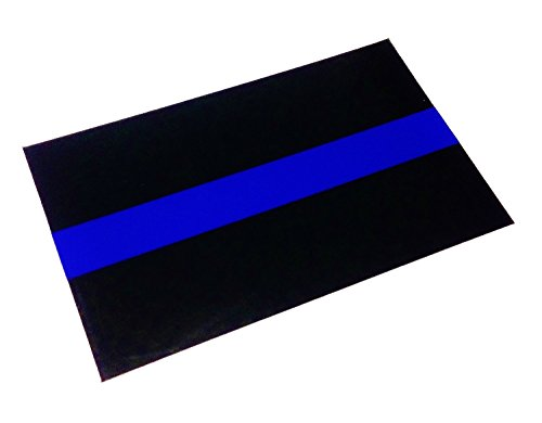 (Empire Tactical USA Police Thin Blue Line Reflective Decal Sticker Ultra Us Made 3m Vinyl Brand)