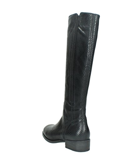 Stivali 30000 Wolky Comfort Snakeprint Conte Di In Pelle Nera rw0AnqrBfx