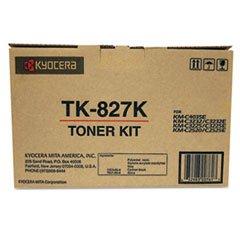- TK827K Toner, 15,000 Page-Yield, Black - Genuine Oem Fax