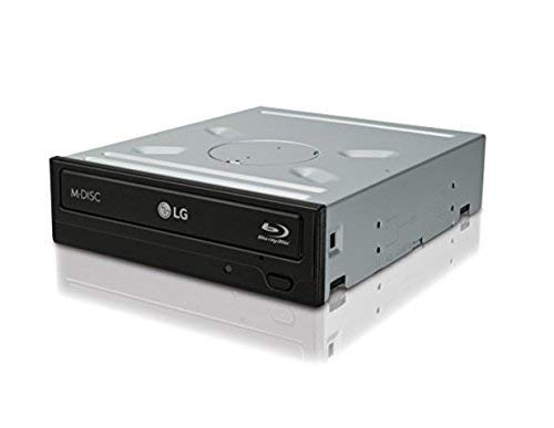 - LG Electronics 14x SATA Blu-ray Internal Rewriter without Software, Black (WH14NS40)