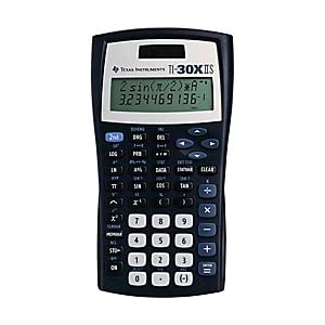 Texas Instruments(R) TI-30X IIS Solar Scientific Calculator