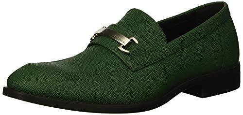 - Calvin Klein Men's Craig Scotch Grain Leather Loafer, Grass Green, 8 M US