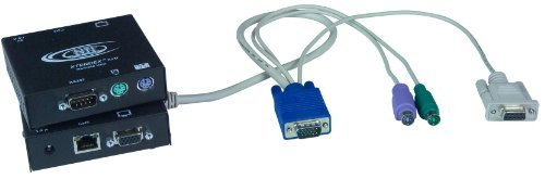 XTENDEX® VGA PS/2 KVM Extender with RS232 via CAT5, Extend