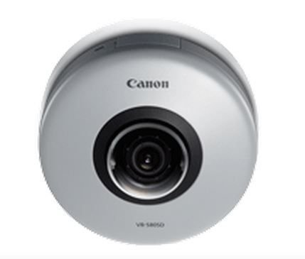 Canon VB-S805D Fixed Dome Network Compact Security Camera with 1.3 Megapixel Resolution 1280 x 960 by Canon