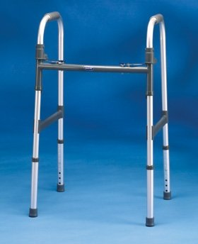 InvaCare 5 inch Fixed Wheels for Blue-Release Walker by Invacare