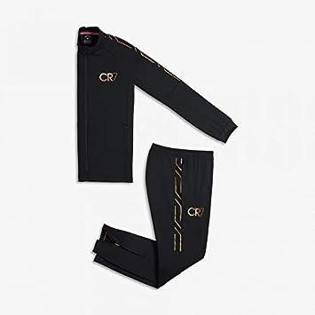 Nike CHANDAL CR7 Dry Academy Black Gold Child 013528fa33cc7
