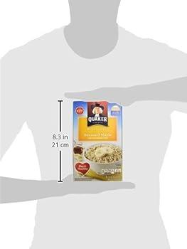 Quaker Instant Oatmeal Breakfast Cereal, Banana & Maple, 12.1 Ounce 6
