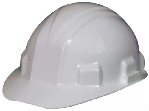 Jackson Safety 14409 Sentry III Hard Hat, Capacity, Volume, HDPE, Standard, White