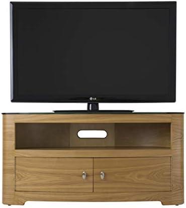 AVF Blenheim roble mesa para TV de hasta 139,7 cm: Amazon.es: Hogar