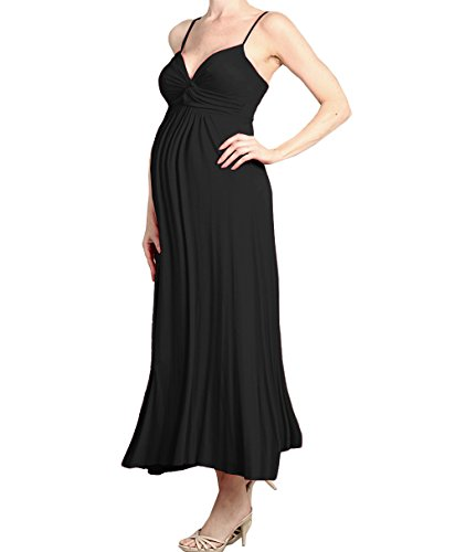 Beachcoco Women's Maternity Sweetheart Party Maxi Dress Made in USA
