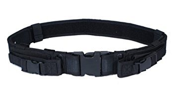 Ultimate Arms Gear Tactical QD Quick Detach Web Duty Belt With Dual Magazine Or Flashlight ()
