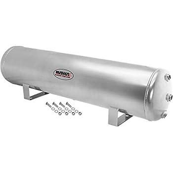 Image of Vixen Air 5 Gallon (18 Liter) 9 Ports Suspension/Air Ride/Bag/Train Horn Air Tank 200 PSI (Silver) VXT5200G Accessories & Compressors