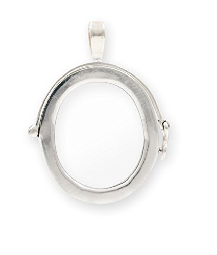Hinged Slide Pendant (Pendant - Picture Frame 25x28mm Sterling Silver)