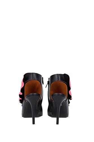 Cuir Sandales Femmes Sandales 319859warj11045 Balenciaga Noir Femmes Uk pwr1Ip