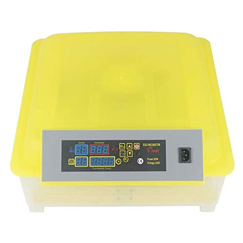 DroSon 48-Egg Yellow & Transparent Practical Fully Automatic Poultry Incubator with US Standard