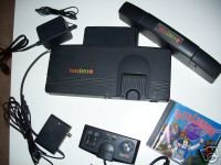 TURBOGRAFX-16 PC ENGINE VIDEO GAME SYSTEM (USED TURBO GRAFX16 SYSTEM) (TURBOGRAFX16 CONSOLE SYSTEM)