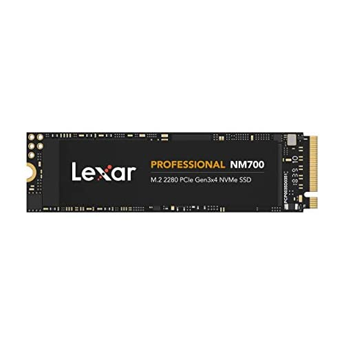 chollos oferta descuentos barato Lexar Professional NM700 M 2 2280 PCIe Gen3x4 NVMe 256 GB SSD LNM700 256RB