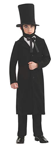Rubie's Child's Deluxe Abraham Lincoln Costume, Large (Renewed)